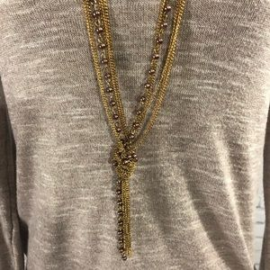 Maurices Multi Chain Knotted Necklace
